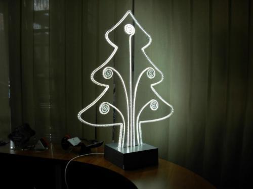 albero led strip